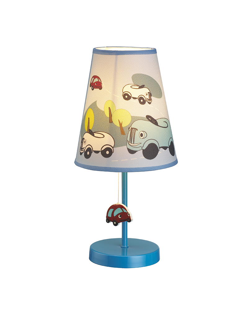 Kids Lamps Cartoon Cars Theme Table Lamp Children Light