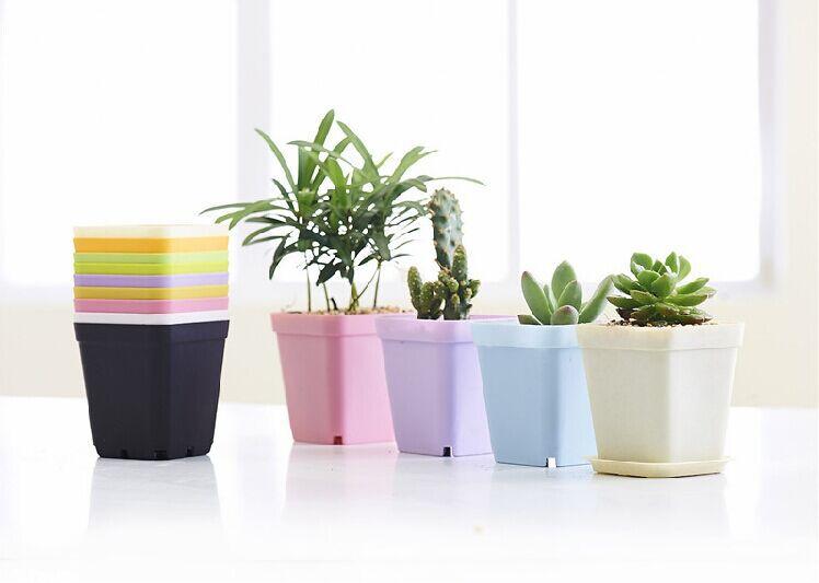 Free Shipping!!hanging pot upside-down plant/plastic rainy flower pots planters vertical garden bonsai PP plastic pot ceramic(China (Mainland))