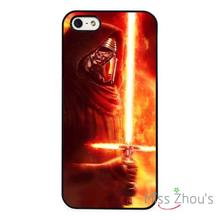 The Force Awaken Kylo Ren back skins mobile cellphone cases for iphone 4/4s 5/5s 5c SE 6/6s plus ipod touch 4/5/6