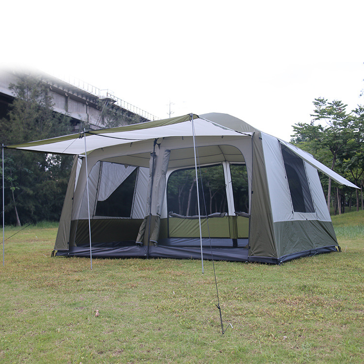 tents tall 10 12 deluxe and spacious two bedroom double tent tents
