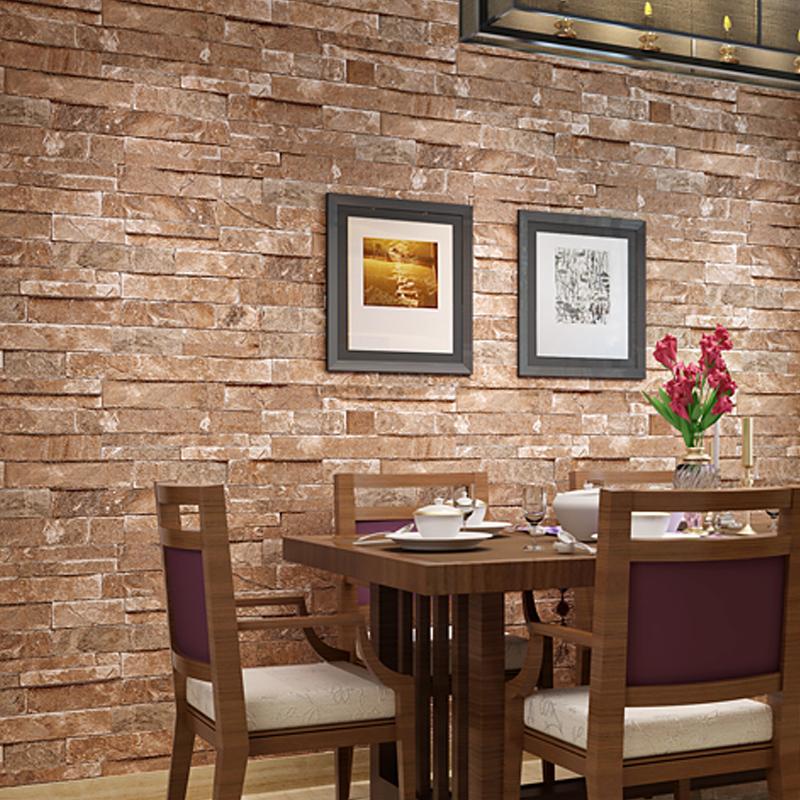 Ziegel Tapete Wohnzimmer : Ziegel Design Hintergrund Wand Vinyl Tapete F?r Moderne Wohnzimmer