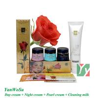 Free Shipping Yan Wo Su whitening cream for face 3 in 1 skin care
