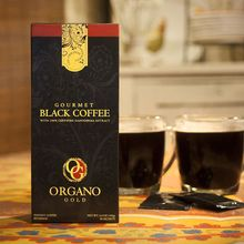 Gourmet Black Coffee With 100 Organic Ganoderma Lucidum