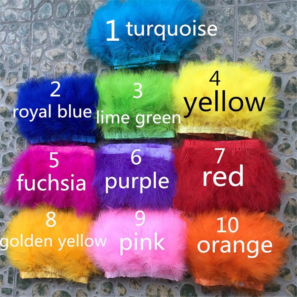 2yard/lot white turkey marabou feather trimming/ fringe/ribbon on bias tape for costume designing or dress(China (Mainland))