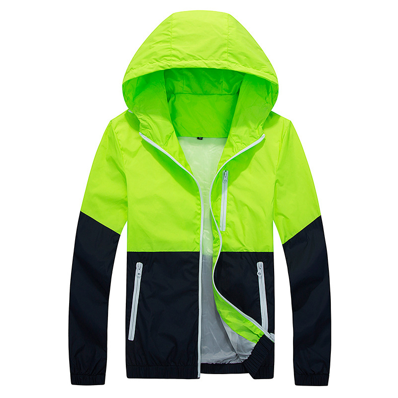 Фотография 6 Colors New Spring & Autumn Clothes Couples Sports Women Men Patchwork Hoodies Clothes Casual Jackets BYF014