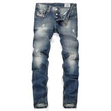 10PCS/LOT LP64 free shipping 2015 male straight leg denim trousers men fashion brand jeans  mens business pants black jeans men(China (Mainland))
