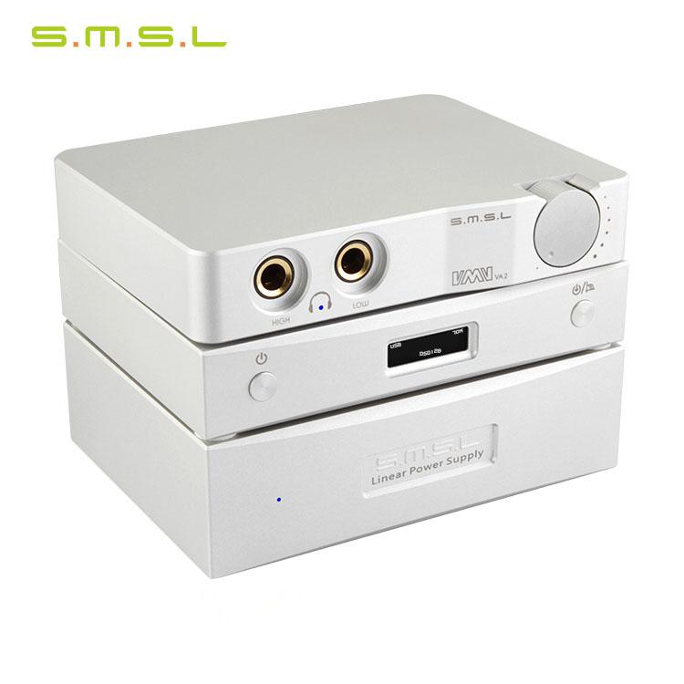 SMSL M8 USB DAC + VMV VA2 headphone amp + linear power P1 High-End Desktop Combination Kit fashion outlook simple operation(China (Mainland))