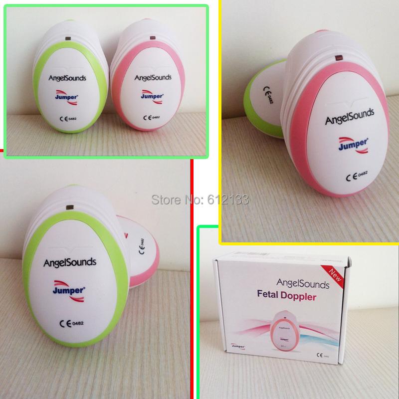 30pcs CE&FDA Factory direct fetal doppler, pocket ultrasound fetal monitor,