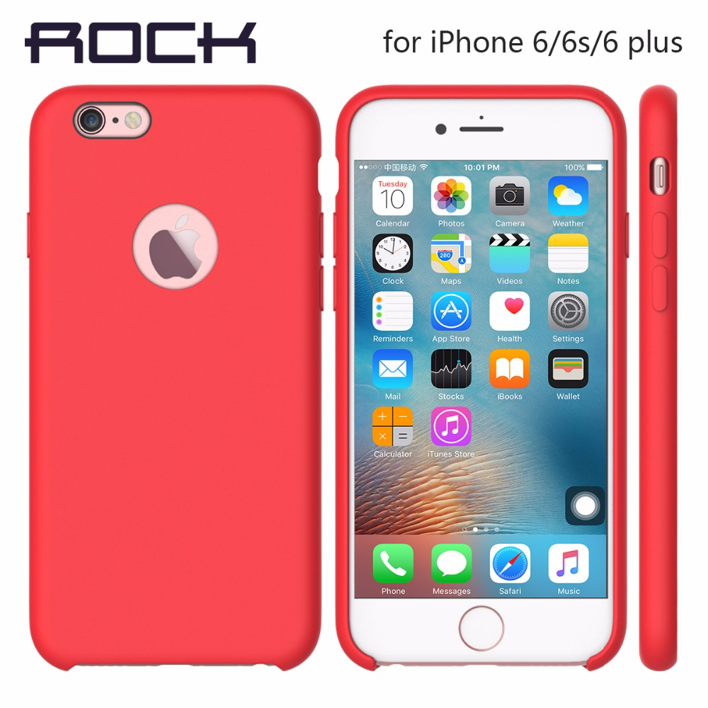 rock touch silicone case for iphone 6 6s 6 plus real. Black Bedroom Furniture Sets. Home Design Ideas