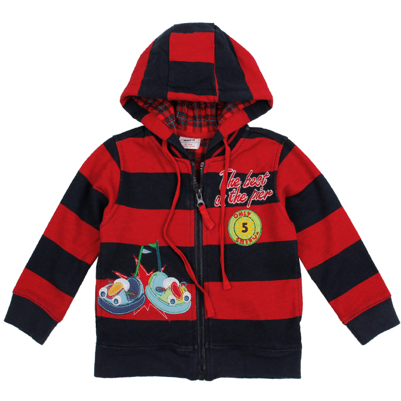 high quality children winter clothes striped zipper with cartoon patten boy coat winter autumn clothes fashion style hot sale<br><br>Aliexpress