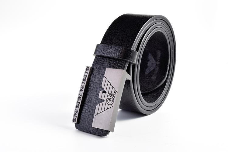 Latest new men belts, men's leather belt fashion leisure pin buckle belts free shipping #HGDY125(China (Mainland))