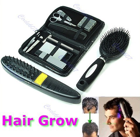 Free Shipping Laser Treatment Power Grow Comb Kit Stop Hair Loss Hot Regrow Therapy New(China (Mainland))