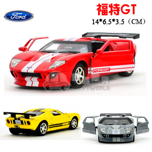 4 FORD ford gt alloy car model acoustooptical WARRIOR(China (Mainland))