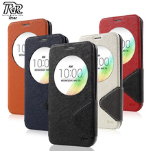 Buy ROAR KOREA Phone Case LG G4 G 4 Diary View Window PU Leather Stand Flip Cover LG G4 Bag Protective Shell for $6.41 in AliExpress store