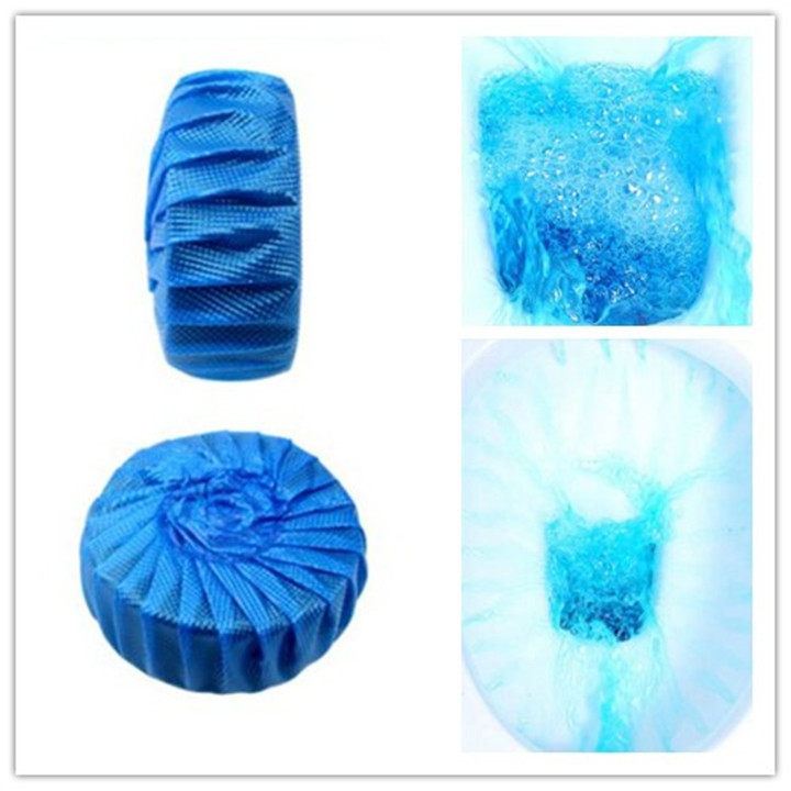 Toilet cleaner spirit juice ball blue bubble toilet bowl cleaner single Home Supplies blue bubble toilet cleaner(China (Mainland))