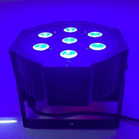 2015 NEW 7*10W 4in1 Quad LEDs (RGBA/RGBW) NEW Mega Quadpar Profile , DMX Par can,american stage light<br>