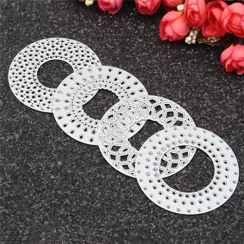 Newest Customized Circle Metal Cutting Dies Stencils for Scrapbooking photo album Decorative Embossing DIY Paper Cards Craft(China (Mainland))