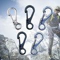 Mini Tools Spring Backpack Clasps Climbing Carabiners EDC Keychain Camping Bottle Hooks Paracord buckles Tactical Survival