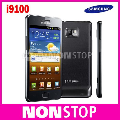SII Unlocked Original Samsung GALAXY S2 S II I9100 Smartphone Android 2.3 Wi-Fi GPS 8.0MP 4.3inch Refurbished(China (Mainland))