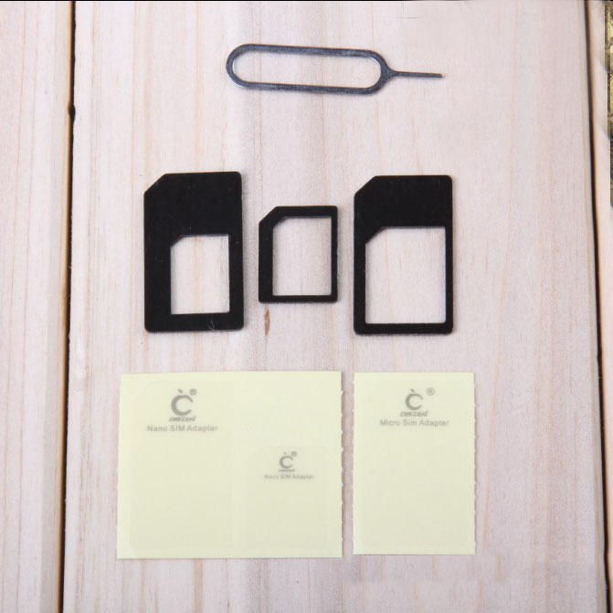 Professional Adaptador Micro Sim Card Adapter for iPhone 4s,Nano Sim Adapter for iPhone 6,Adapter Sim Card Holder for iPhone 5s(China (Mainland))
