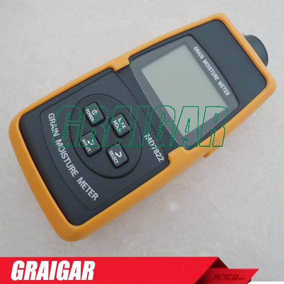 MD7822 LCD Display Digital Food Grain Rice Corn Wheat Moisture Temperature Meter