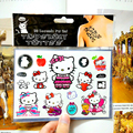 Hello Kitty Cat Child Temporary Tattoo Body Art Flash Tattoo Stickers 17 10cm Waterproof Henna Tatoo