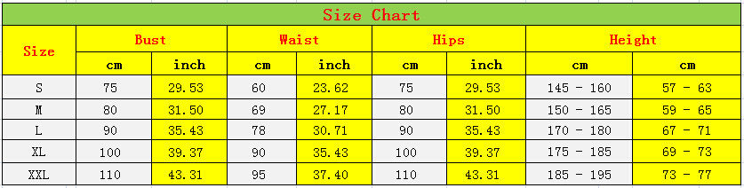 salelolita_lycra size chart