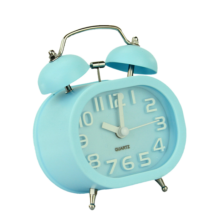 Alarm clock radio telephone picture more detailed picture about fashion oval twin double bell - Unique alarm clocks for teenagers ...