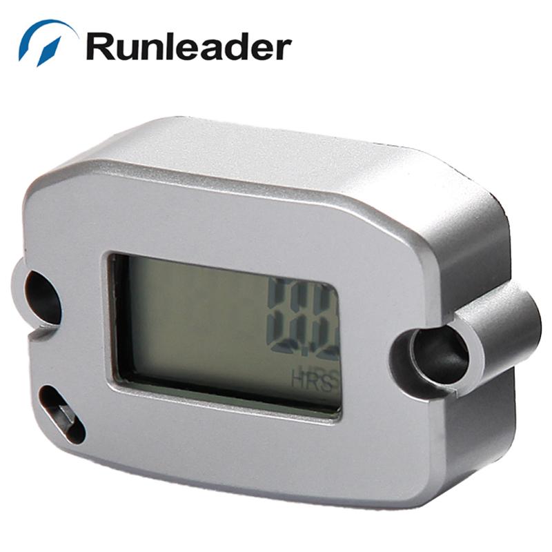 Free shipping! RL-HM022 20 pcs/lot Digital Inductive Tachometer for mower motocross Jet ski outboard motor OHV engine<br><br>Aliexpress