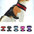 Stylish Flash Bow Dog Harnesses Set Cat Dogs Puppy Breathable Mesh Adjustable Harness Collars Leads with