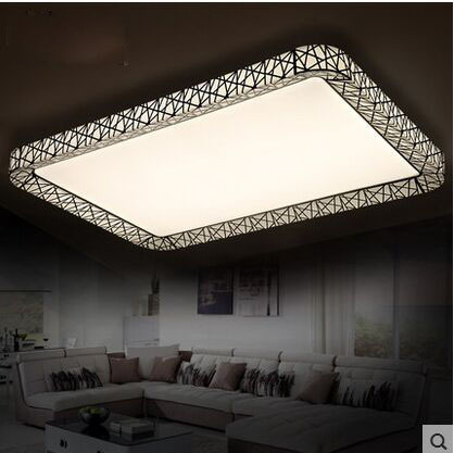 Modern minimalist living room, bedroom, study, dining room, office Iron LED Ceiling(China (Mainland))