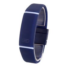 New Upgrade Section Waterproof LED Bracelet Children Women Watch Men Digital Wristwatch Sports Shock Fashion Clock  XH104