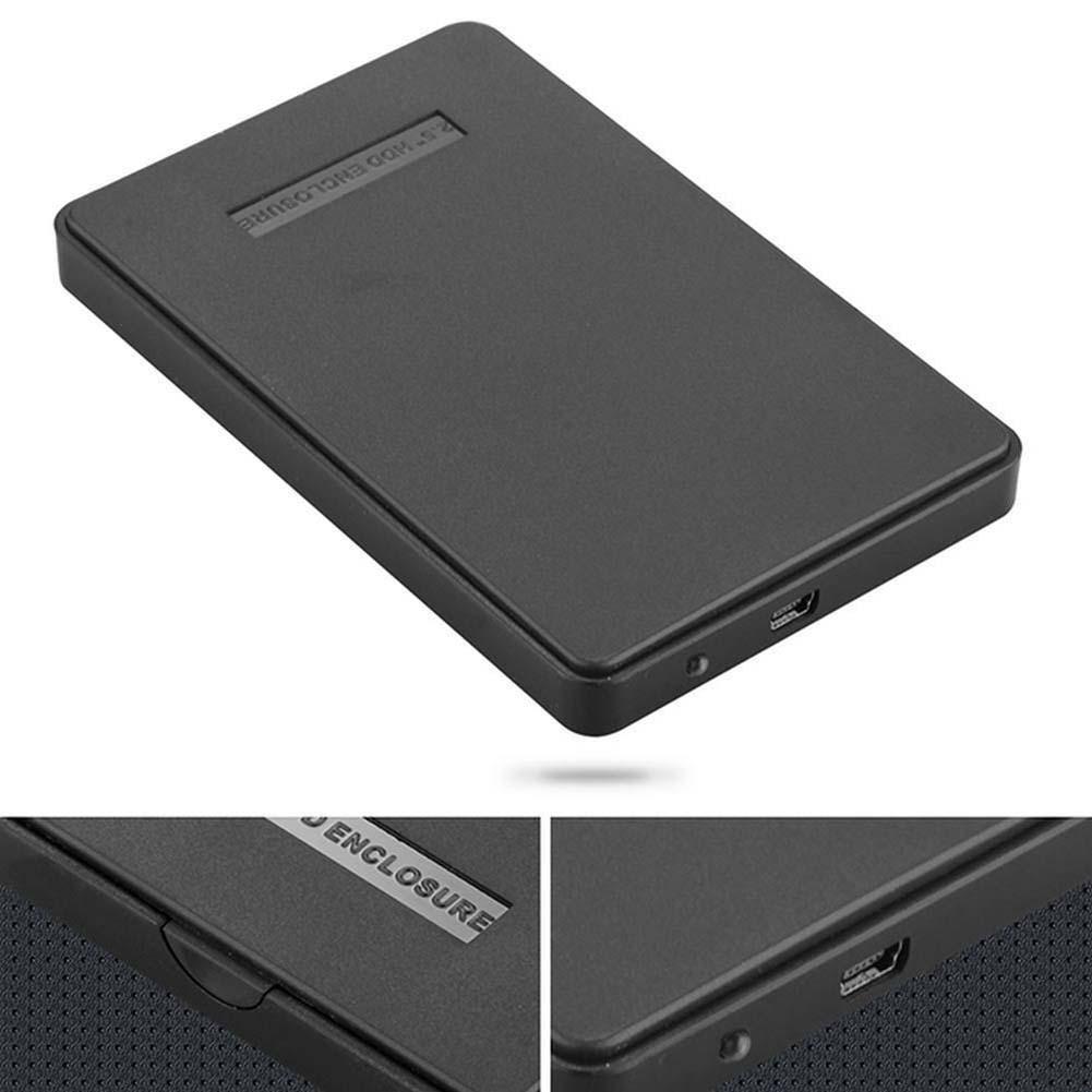 USB 2.0 Hard Drive External Enclosure 2.5 inch SATA HDD Mobile Disk Box Cases laptop hard drive hdd caddy(China (Mainland))