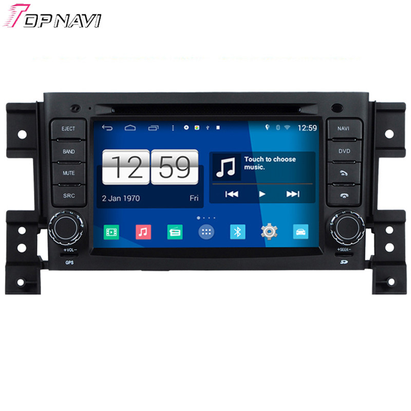 Newest Quad Core S160 Android 4 4 Car DVD Player For Vitara With Wifi Bluetooth 16GB
