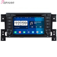 Newest Quad Core S160 Android 4.4 Car DVD Player For Vitara With Wifi Bluetooth 16GB Flash Mirror Link DHL Free Shipping