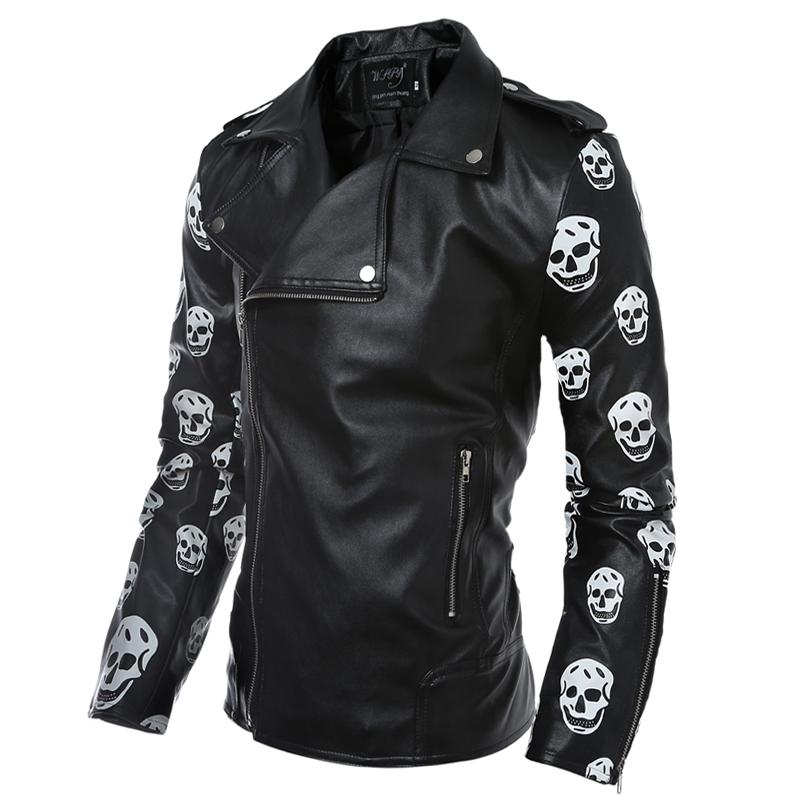Aliexpress.com : Buy 2016 New Fashion Leather Jacket Coats Slim ...