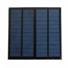 New Hot sale Solar Panel Module for Light Battery Cell Phone Charger Portable 12V 3W DIY(China (Mainland))
