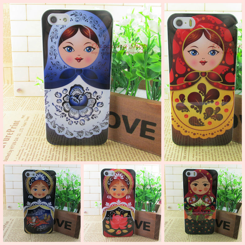 Original new arrival top sale soft case dirt-resistant cases for iphone5/5s/5g Russian Doll cell phone case RIP514082107(China (Mainland))
