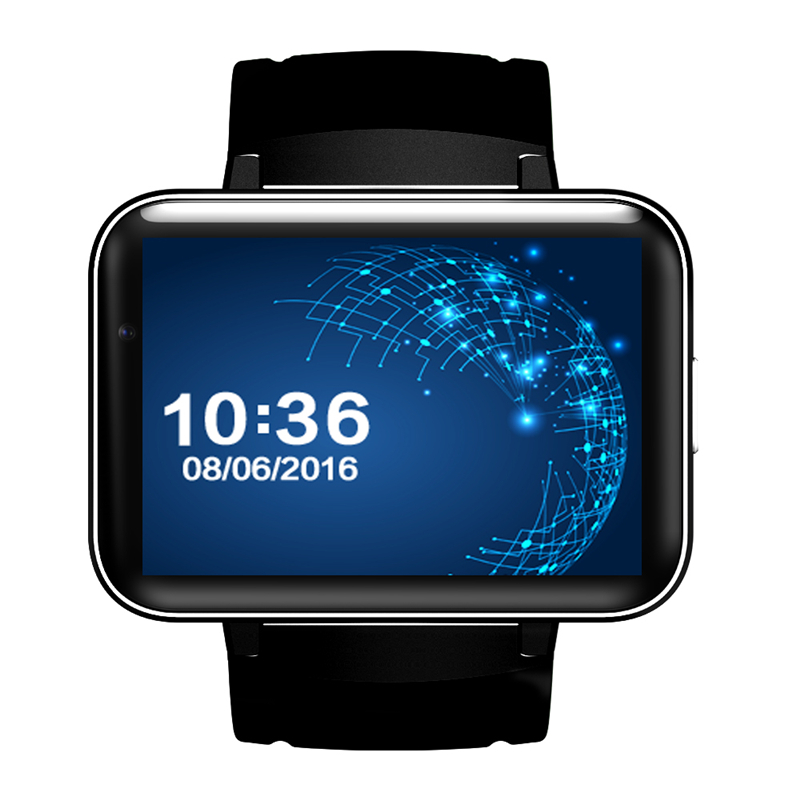 Viwel DM98 Bluetooth Smart Watch 2.2 inch Android 4.4 OS 3G Smartwatch Phone MTK6572 Dual Core 1.2GHz 4GB ROM Camera WCDMA GPS