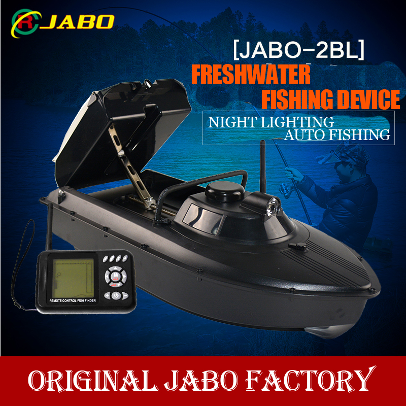 2014 Newest JABO 2BL Remote Control Bait Boat Fish Finder upgade JABO 2BS 20A Lipo Battery Newest Eiditon Jabo RC fishi girl toy(China (Mainland))