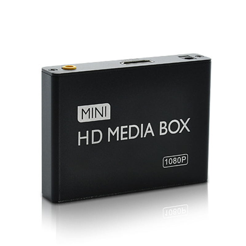 New Mini HDMI Media Player 1080P Full HD TV Video Multimedia player box support MKV/RM-SD/USB/SDHC/MMC HDD-HDMI for Car Home use(China (Mainland))
