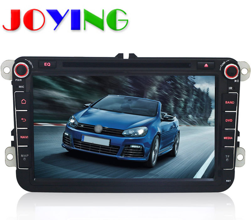 Quad Core 1024*600 2 Din Android 4.4 Car Audio DVD GPS For VW Skoda POLO PASSAT JETTA TIGUAN TOURAN Touareg GOLF Fabia Superb(China (Mainland))