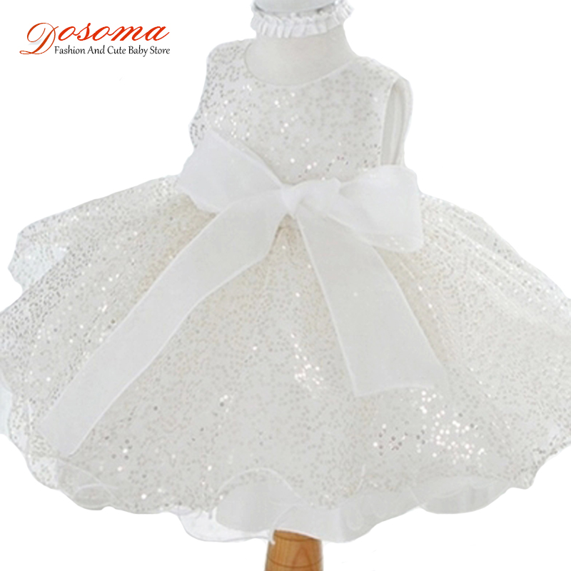 2016 summer baby tutu dresses kids bling clothes children princess bow flower girls party wedding - Fashion and Cute Baby Store store
