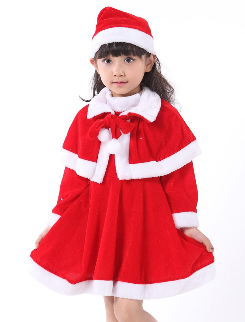 3-8Years of 2015 New Girls Winter Christmas 2 pics Shawl+Dress Boys Christma coat+pants Kids New Year Clothing Set(China (Mainland))