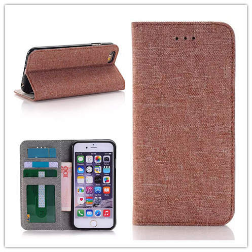 Jean's leather case for iPhone 6 6S case wallet design cover for Iphone 6 plus 6s plus cover Support function case(China (Mainland))