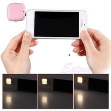 Smartphone Portable Mini 16 Leds LED Flash Fill Light Fr iPhone IOS Android WP(China (Mainland))