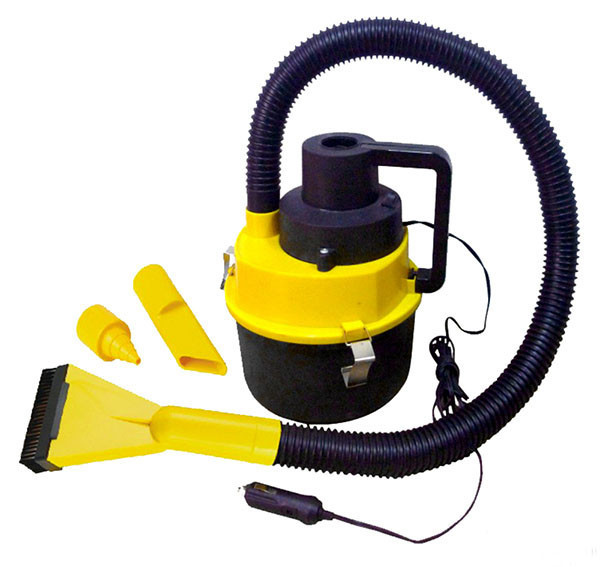 12V portable car wash machine Auto Wet & Dry Canister Vacuum Cleaner Carpet Floor Boat Car Cleaner Hoover Air Pump(China (Mainland))