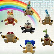 Kawaii Super Mario Game 7 Style Anime Dolls Plush Toys Lovely Stuffed Soft Toys Send Friend Boys Girls Kids Toy Gifts Pokemon