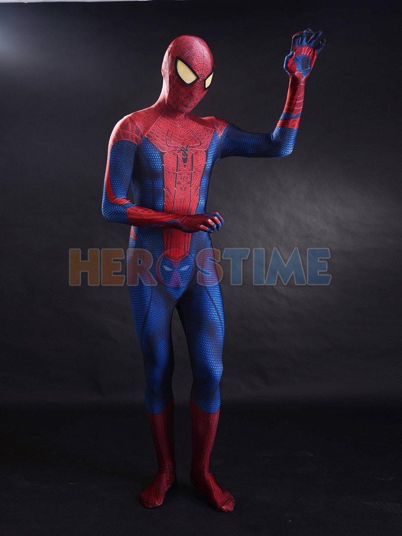 2015-The-Amazing-Spider-man-3D-Original-Movie-Spider-man-Costume-1