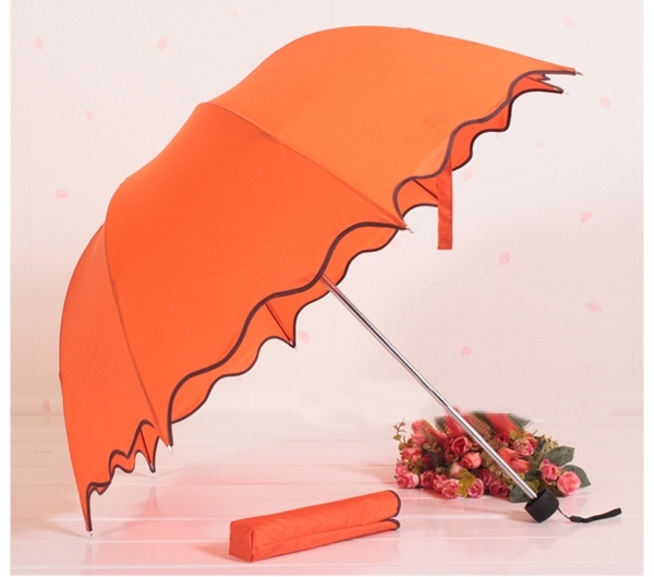 Super ruffle umbrella arch umbrella apollo princess umbrella